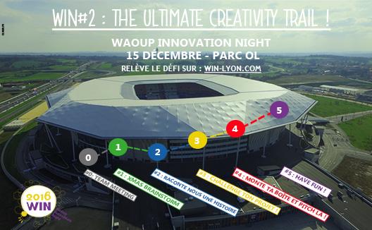WIN#2 : THE ULTIMATE CREATIVITY TRAIL